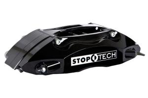 Stoptech ST-40 Big Brake Kit Front 328mm Black Zinc Drilled Rotor - Subaru Impreza 2.5RS 1998-2001