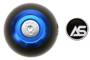 AutoStyled 6 Speed Shift Knob Blue w/ Black Delrin Center ( Part Number:ASA 1501010202)