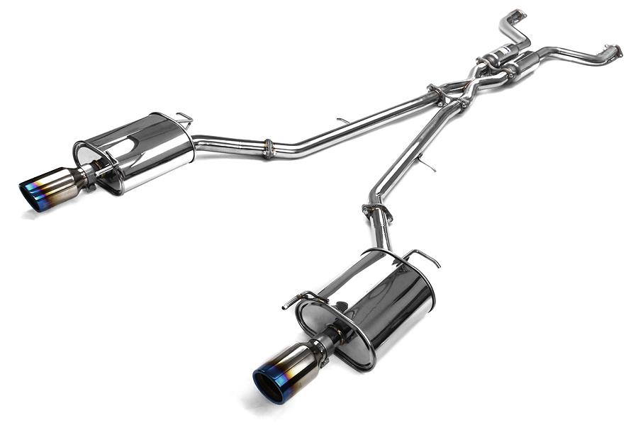 invidia q300 cat back exhaust titanium tips