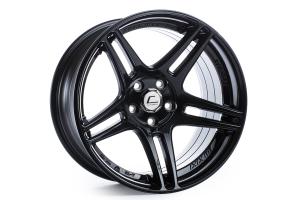 Cosmis Racing Wheels S5R 17x10 +22 5x114.3 Black - Universal