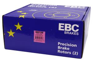EBC Brakes 3GD Sport Dimpled/Slotted Front Brake Rotors - Subaru Models (inc. 2013+ BRZ / 1995+ Impreza)