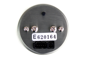 STRi DSD Amber 52mm Fuel Pressure Gauge (Part Number: )