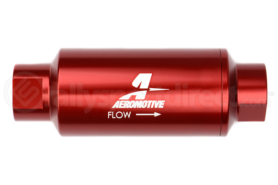 Aeromotive Fuel Filter Red 10 Micron Cellulose (Part Number:12301)
