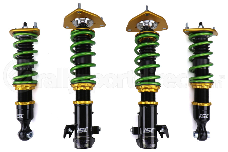 ISC Suspension N1 Street Sport Coilover w/ Triple S Springs - Subaru STI 2008-2014