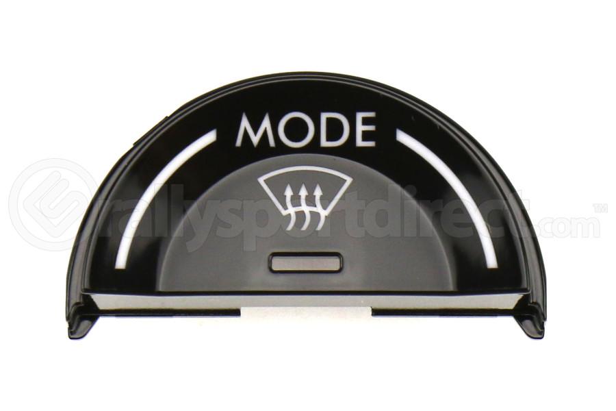Subaru Piano Black Single Mode Climate Zone Filler - Subaru Models (inc. 2015-2017 Crosstrek)
