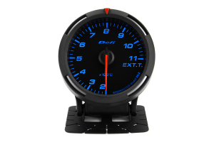 Defi Blue Racer EGT Exhaust Gas Temperature Gauge Metric 60mm 200-1100C ( Part Number:DEF1 DF11804)