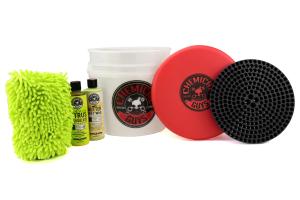 Chemical Guys Best Detailing Bucket Kit (6pc) Black - Universal