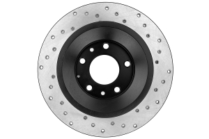 Stoptech Drilled Rear Right Rotor Single ( Part Number:STP 128.45074R)
