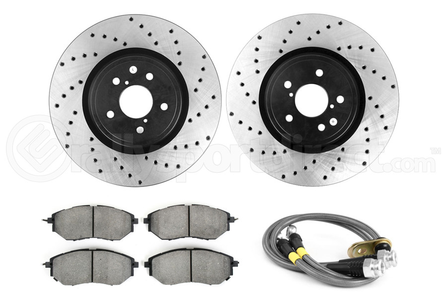 Stoptech Sport Kit Drilled Front (Part Number:979.47010F)