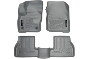 Husky Floor Liners Grey - Ford Focus ST 2013+ / RS 2016+