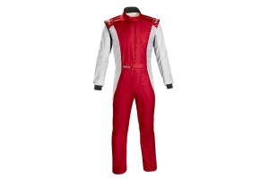 Sparco Competition Racing Suit Red / White - Universal