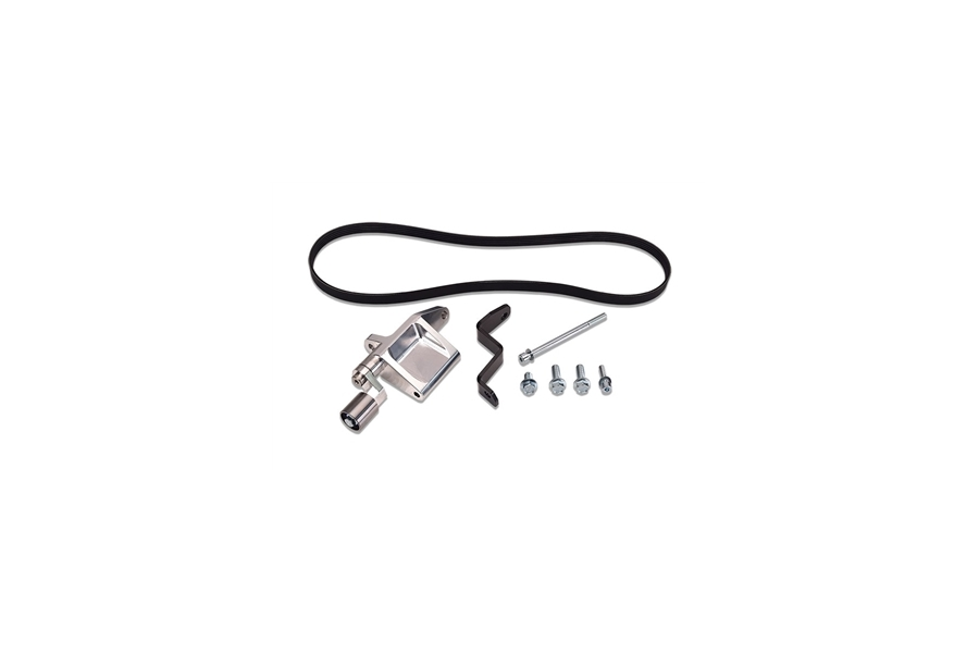 IAG Alternator Relocation Kit For Reverse Intake Manifold (NO Power Steering) - Subaru Models (Inc. WRX 2002-2014 / STI 2004+)