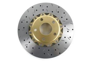 DBA 5000 Series Drilled/Slotted Rotor Pair Front ( Part Number:DBA 5010GLDXSG)