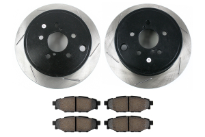 Stoptech Street Axle Pack Slotted Rear ( Part Number: 937.47503)