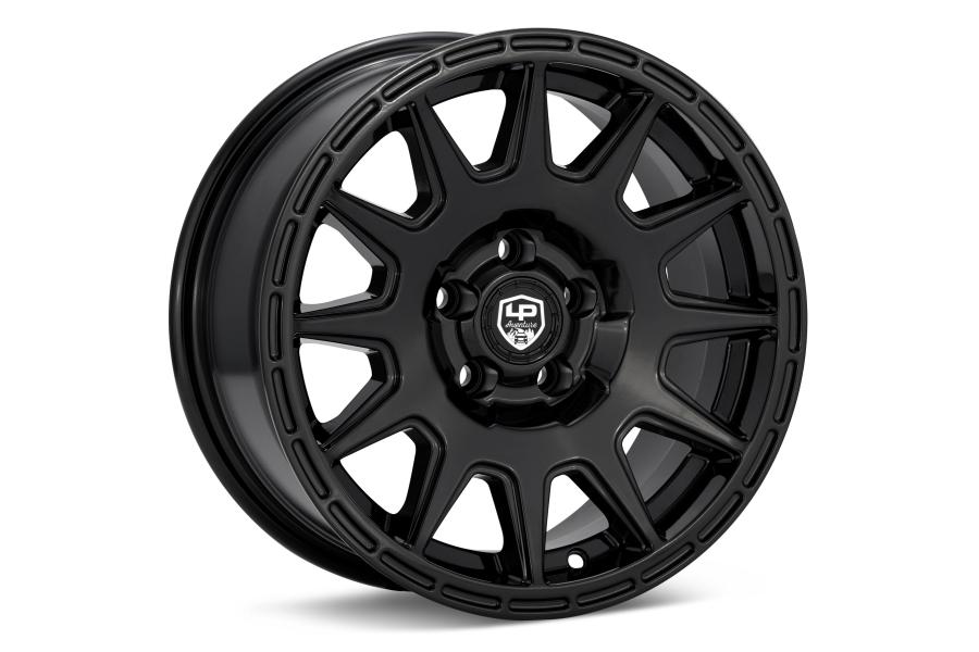 LP Aventure LP1 Wheel 15x7 +15 5x100 Gloss Black - Universal