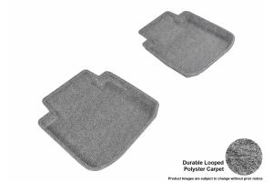 3D MAXpider Rear Classic Floor Mats Grey - Subaru Legacy / Outback 2015 - 2018