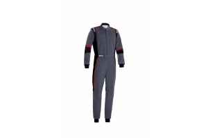 Sparco X-Light Racing Suit Grey / Black / Red - Universal