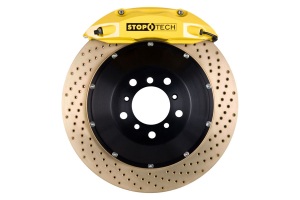 Stoptech ST-40 Big Brake Kit Front 355mm Yellow Zinc Drilled Rotors ( Part Number:STP 83.842.4700.84)