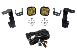 Diode Dynamics Ditch Light Kit SS3 Sport Yellow - Subaru WRX / STI 2015 - 2020