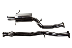 TurboXS Catback Exhaust System 4in Polished Stainless Tip - Subaru WRX 2002-2007 / STI 2004-2007