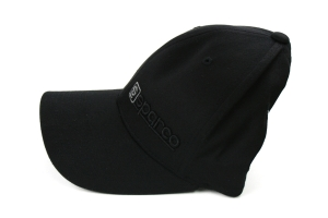 Sparco Hat Lid  Black/Charcoal Large/XLarge FlexFit Tuning ( Part Number:SPR2 SP14NC)