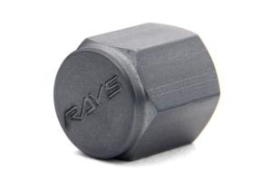 Volk Racing Rays Valve Stem Caps Gunmetal (Part Number: )