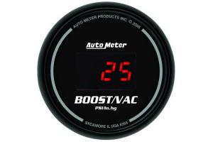 Autometer Sport-Comp Digital Boost Gauge Red LED 52mm - Universal