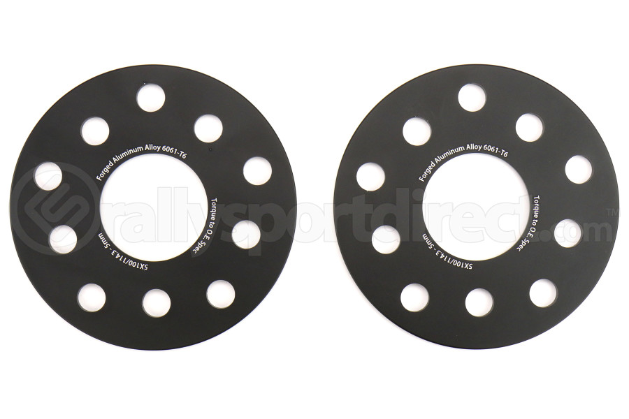 FactionFab 5x100/114 5mm Wheel Spacer Pair (Part Number:1.10034.1)