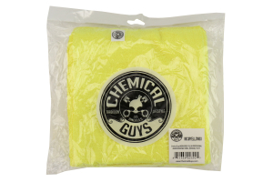 Chemical Guys Workhorse Professional Grade Microfiber Towels Yellow (3 Pack) - Universal