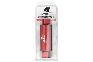 Aeromotive Fuel Filter Red 10 Micron Cellulose (Part Number: )