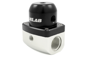 Fuelab Black EFI Adjustable Fuel Pressure Regulator ( Part Number: 51501-1)