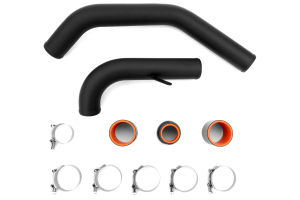 ETS Upper Intercooler Piping Kit Black - Mitsubishi Evo X 2008-2015