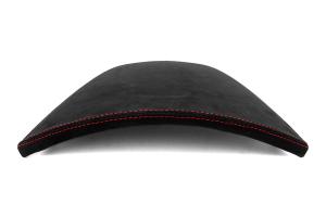 JPM Coachworks OEM Cluster Hood Black Alcantara Red Stitching  ( Part Number: 1105A40-R)