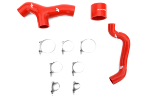 Mishimoto Silicone Intercooler Hoses Red ( Part Number: MMHOSE-SUB-INT6RD)