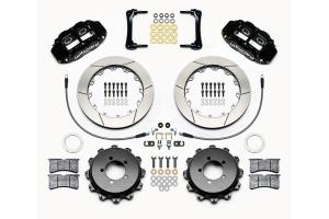 Wilwood FNSL4R 12.88in Rear Kit Black - Subaru Models (inc. 2008-2014 WRX)