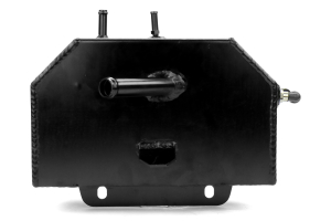 Mishimoto Aluminum Coolant Expansion Tank Black - Ford Mustang 2015+