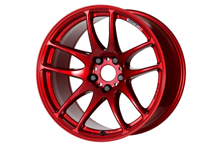 Work Emotion CR Kiwami 18x9.5 +38 5x114.3 Candy Red - Universal