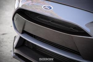 Seibon Carbon Fiber Front Bumper Garnish - Ford Focus RS 2016+