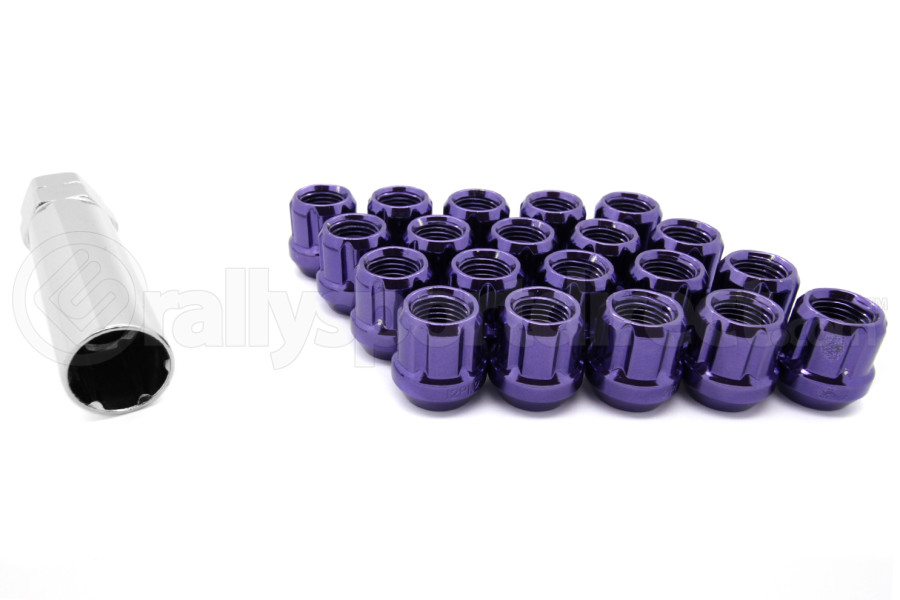 Muteki Lug Nuts 12x1.25 Open Ended Purple ( Part Number:KIC 31885L)