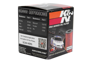 K&N Pro-Series Oil Filter PS-7013 - Ford/Mazda Models (inc. 2006-2009 Ford Fusion / 2006-2009 Mazdaspeed3/6)