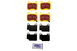 EBC Brakes Yellowstuff Street And Track Rear Brake Pads - Mitsubishi Evo 8/9 2003-2006