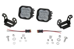 Diode Dynamics SS3 Pod Max Fog Light Kit White - Universal