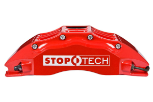 Stoptech ST-60 Big Brake Kit Front 355mm Red Zinc Slotted Rotors (Part Number: )