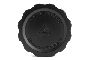 GrimmSpeed Cool Touch Delrin Oil Cap Black (Part Number: )