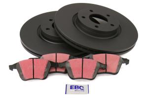 EBC Brakes S1 Front Brake Kit Ultimax2 Pads and RK Rotors - Mazdaspeed 3 2007-2013