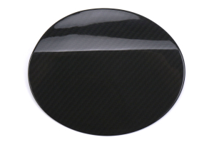 OLM S-line Dry Carbon Fiber Fuel Door Cover - Subaru WRX / STI 2015+