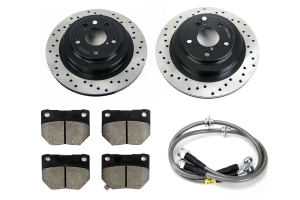 Stoptech Sport Kit Drilled Rear ( Part Number:STP 979.47003R)