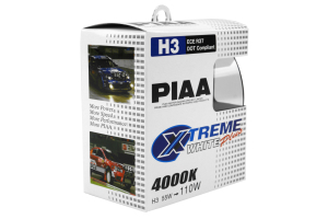 PIAA H3 110W 4000K Xtreme White Bulb Twin Pack ( Part Number:PIA 15223)
