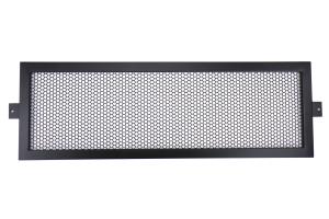 InterTek Fabrication Intercooler Guard Black  - Subaru STI 2008-2014