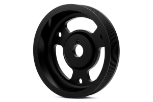 GrimmSpeed Lightweight Crank Pulley Black - Subaru Models (inc. BRZ 2013+ / WRX 2015 - 2018)